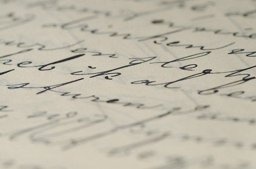 Letter, Handwriting, Written, Ink, Write