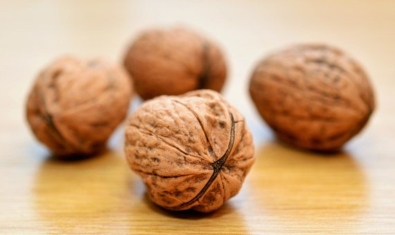 Walnuts, Nuts, Healthy, Shell, Brown